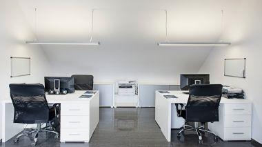 Lighting of office space in Myślenice